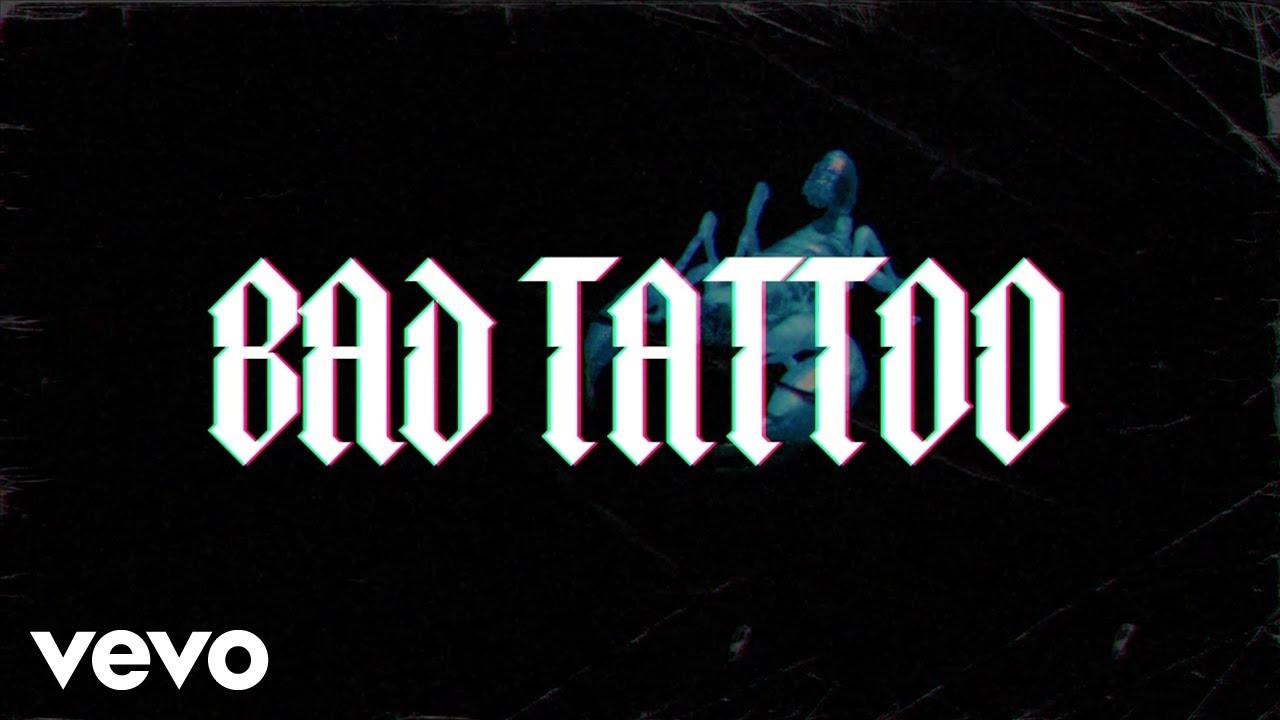 Franke - Bad Tattoo  (Official Lyric Video)
