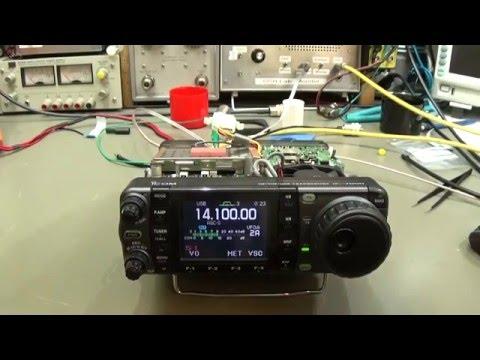 #72  HAM Radio repair: ICOM IC-7000 with receiver problems and remote failer