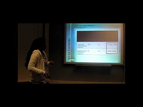 Internship Presentations @ kno.e.sis : Mariya Quibtiya