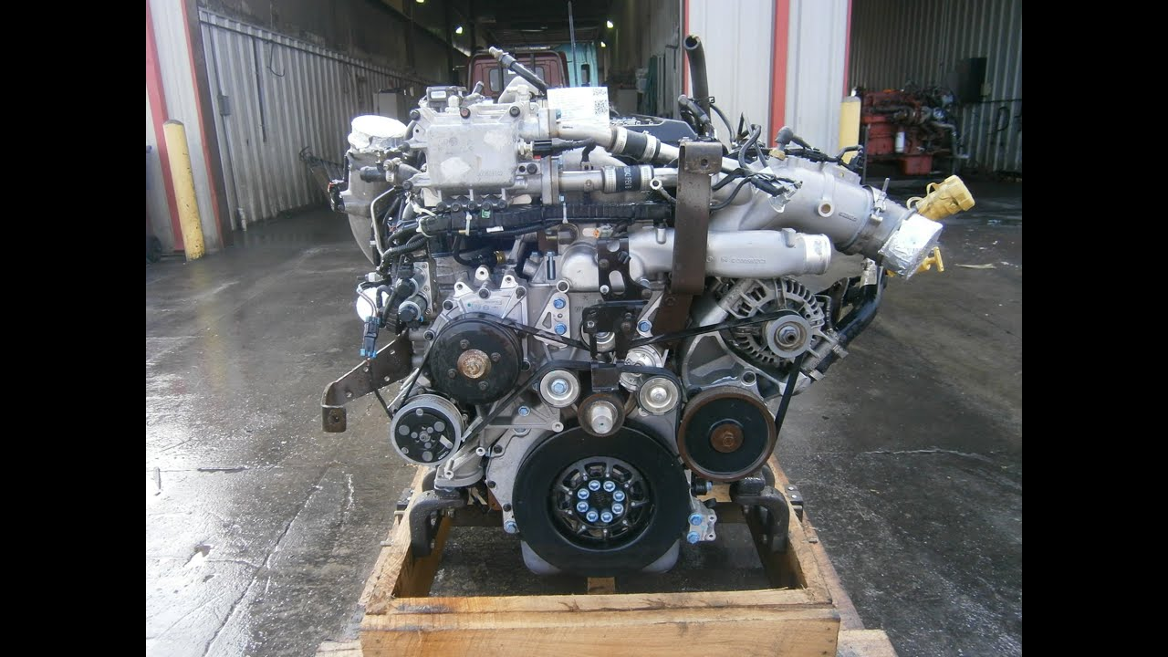 2012 International MaxxForce 13 Engine  YouTube