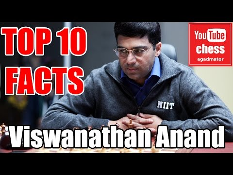 Top 10 facts about Viswanathan Anand