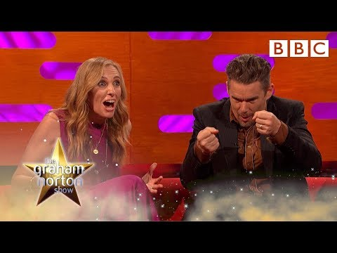 Ethan Hawke's costar literally died on stage  The Graham Norton   BBC