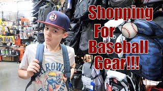 Shopping For New Baseball Gear
