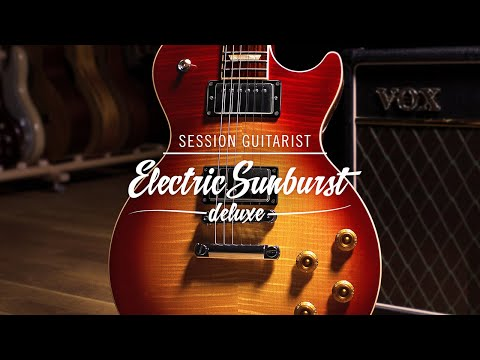 SESSION GUITARIST: ELECTRIC SUNBURST DELUXE Walkthrough | Native Instruments