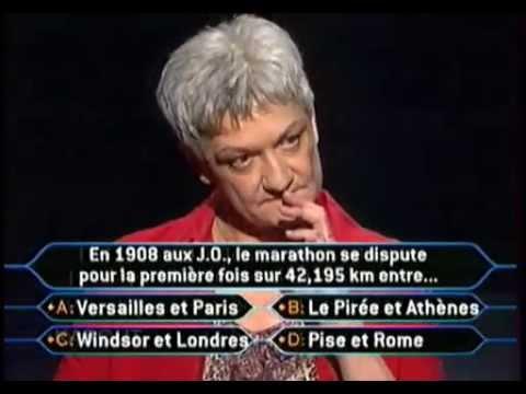 Qui veut gagner des Millions - Marie - 27 Août 2004