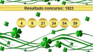 sorteio resultado mega sena 1823 Palpite 1824