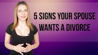 5 Signs Your Spouse Wants a Divorce (And How to Prevent It)
