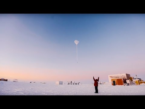 Watching a NOAA Balloon Launch! | South Pole, Antarctica