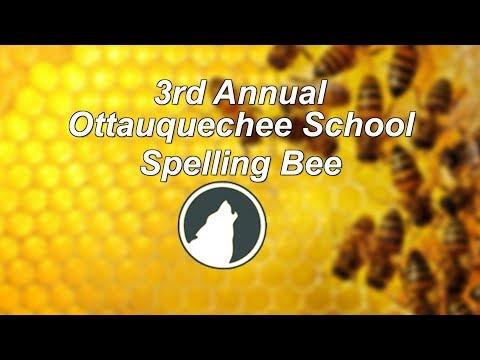 Ottauquechee School 3rd Annual Spelling Bee