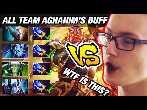 Miracle- vs All Team Aghanim