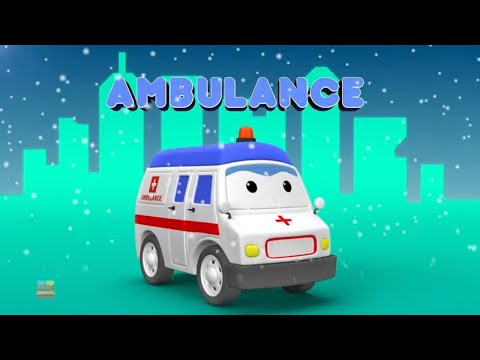 Emergency Vehicle Videos For Babies   Car Cartoons - Kids Channel