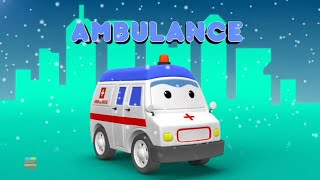 Emergency Vehicle Videos for Babies | Car Cartoons - Kids Channel