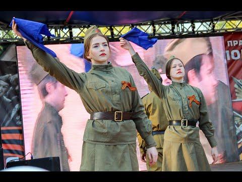 5a74609768d2 9 мая 2016. Акция Синий платочек. Танцевальный флэшмоб. Омск