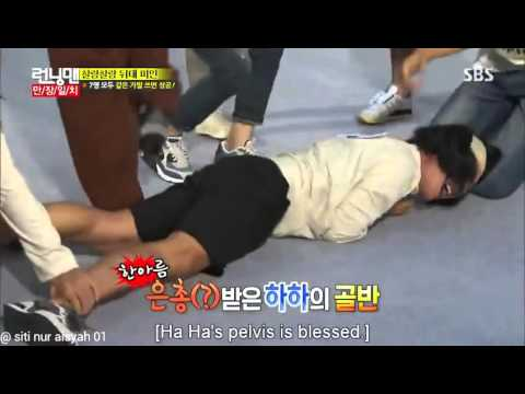 Download Running man ep 267 - Gary & HaHa receive massage punishment