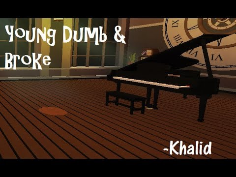 Young Dumb & Broke | Virtual Piano | ROBLOX