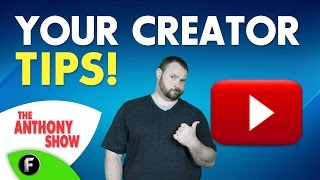 The Anthony Show - Your YouTube Tips - The Anthony Show #TeachMe #FreedomFamily