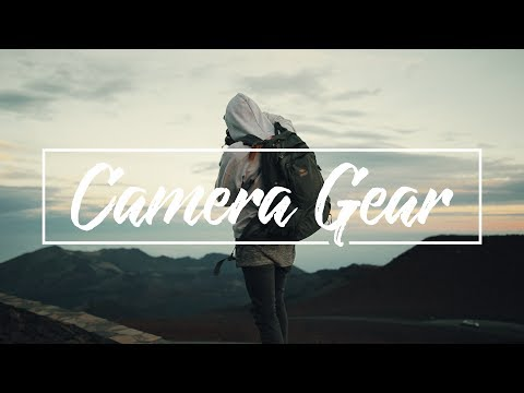 MY CAMERA GEAR / GIVEAWAY ANNOUNCEMENT