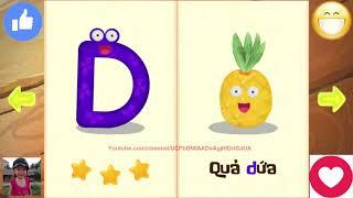 Dạy bé tập đọc chữ cái Tiếng việt qua trò chơi đập trứng giúp thông minh sớm