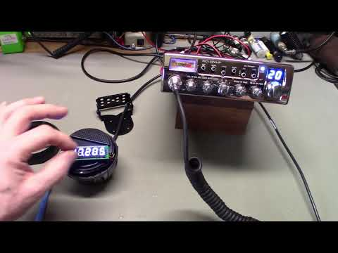 Adjusting Your CB Radio External Frequency Counter So It Reads Correctly.