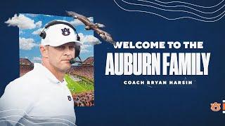 Auburn Football Head Coach Bryan Harsin Introductory Press Conference
