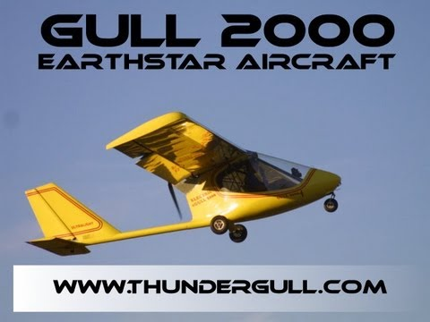 Earthstar Soaring Gull, 12 Ultralight Aircraft that give you the biggest bang for your buck!