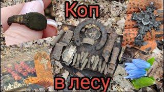 WW2.Коп в лесу 2021.Путешествия по Харьковской области с Макро Мульти Крузером