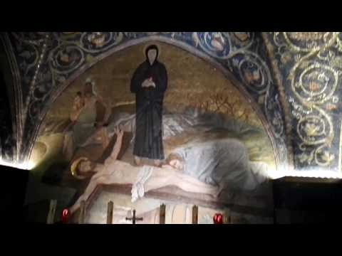 Detailed explanation of the Golgotha (Calvary). Church of the Holy Sepulchre, Jerusalem