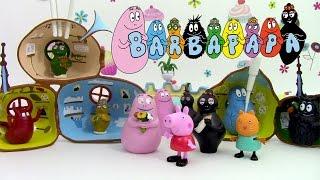 La Maison des Barbapapa Jouet Pâte à modeler en français Peppa Pig