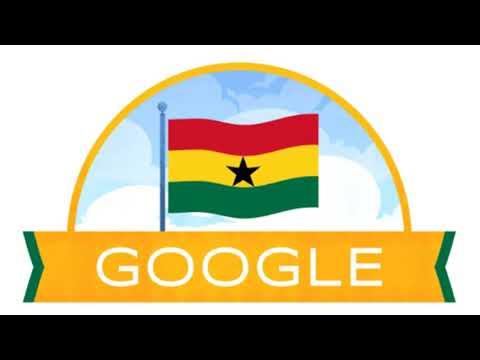 GOOGLE, DOODLE, DÍA DE LA INDEPENDENCIA DE GHANA 2020HIMNO DE GHANA