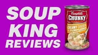 Campbell's Chunky Creamy Chicken And Dumplings Soup - Soup King Reviews