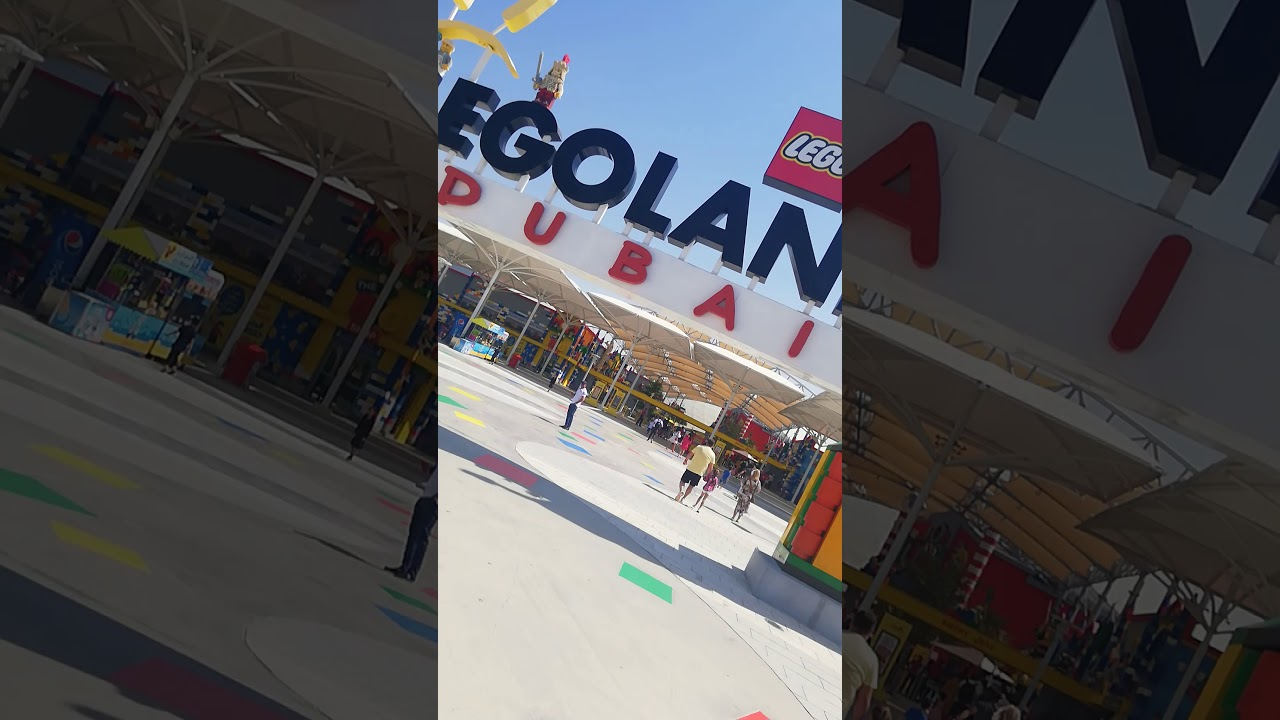 Finally @ LEGOLAND DUBAI!!!... - YouTube