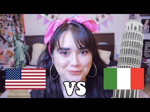 AMERICA VS ITALIA - LA MIA ESPERIENZA A NYC // Muriel