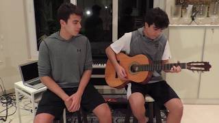 Gambar cover BEAUTIFUL PEOPLE by ED SHEERAN ft. KHALID in ONE TAKE | BROTHER DUO COVER | GONE MEME