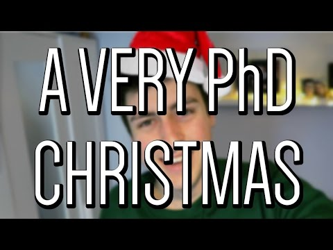 A Christmas week as a PhD student
