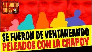 ELLOS TAMBIÉN SE ENOJARON CON PATI CHAPOY!!!  IGUAL QUE ATALA