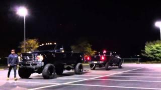Ford Superduty Tug Of War!