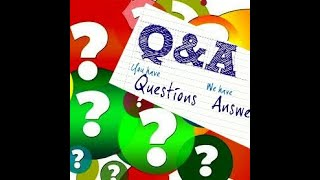 Live Question Answer Session