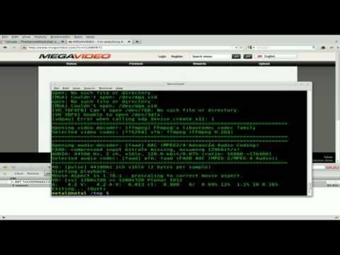 megavideo linux