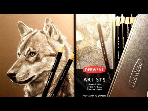 Derwent Artists Black & White Review and Demo