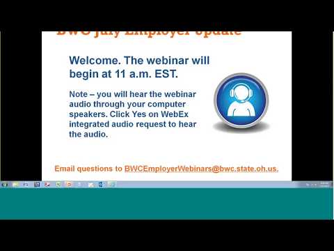 July 2017 Monthly Employer Webinar