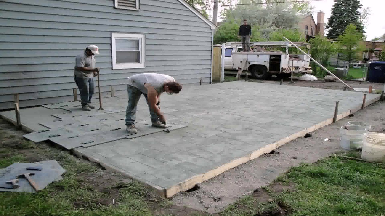 ideas to cover cement patio youtube