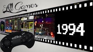 Все игры на Sega Mega Drive / All Games Sega Genesis [1994]