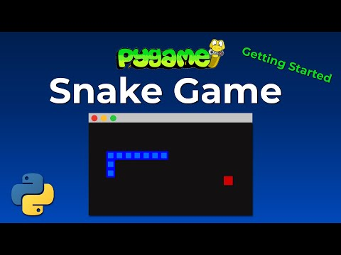 Python Snake Game With Pygame - Create Your First Pygame Application