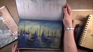 Скетчбуки для рисования пастелью