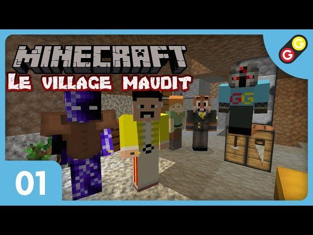 Minecraft - Le village maudit #01 Un bon départ ! [FR]
