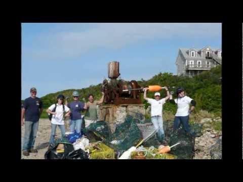 Appledore Island, Isles Of Shoals Cleanup, June 2012