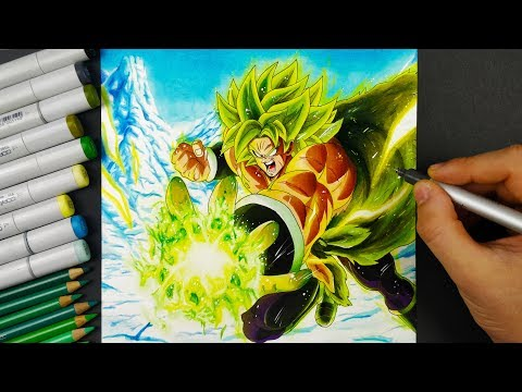 Drawing BROLY | NEW DBS MOVIE