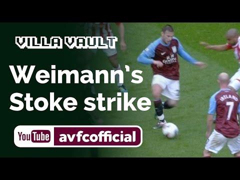 Weimann's curling strike against Stoke in 2012