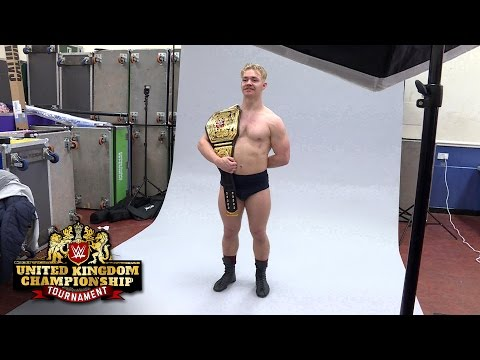 Tyler Bate's first photo shoot as WWE United Kingdom Champion: Exclusive, Jan. 15, 2017