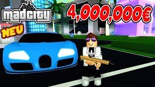🚗 NEUES *4,000,000€ AUTO* NERO BUGATTI - MAD CITY ROBLOX